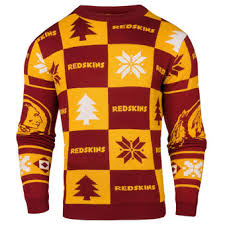 washington redskins ugly sweaters washington redskins ugly