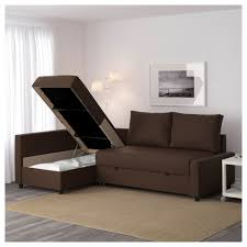 ik a chaise friheten corner sofa bed with storage skiftebo brown ikea