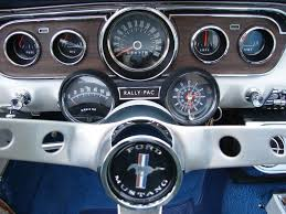 1965 mustang instrument cluster silver blue 1965 ford mustang convertible mustangattitude com