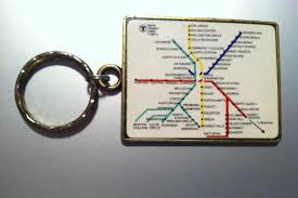 Mbta Map Subway by Historical Map Mbta Keychain C 1980 1984 C Transit Maps