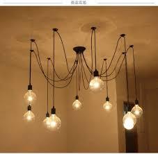Hanging Home Decor Spider Loft Suspension Luminaire Pendant Lights Hanging Home Decor