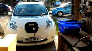 nissan leaf charging options charging the nissan leaf off grid from solar experiment1 mp4 youtube
