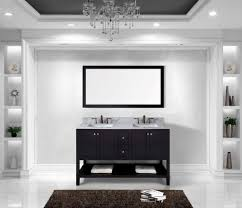 54 Bathroom Vanity Cabinet Kitchen Single Bathroom Vanity 54 Inch Double Sink Vanity 60