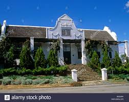 traditional cape dutch style house tulbagh western cape south