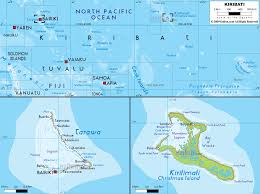 Map Of Oceania Detailed Clear Large Map Of Kiribati Ezilon Maps
