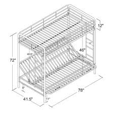 Standard Bed Dimensions Bunk Beds Bunk Bed Measurements Bunk Bed Mattress Vs Twin