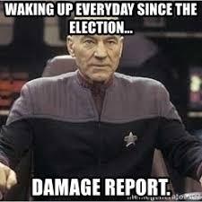 Meme Picard - picard damage report meme generator