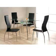 Glass Dining Tables And 6 Chairs Cheap Glass Dining Table Sets Zagons Co