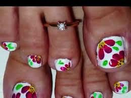 wonderful toe nail art design cute pedi designs best pedicure
