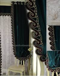 Thick Black Curtains Catchy Thick Black Curtains Designs With Black Velvet Blackout