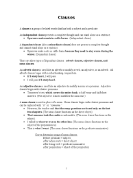 english 2 workbook clause style fiction