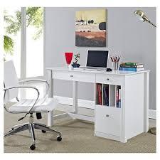 home computer desk home office deluxe storage computer desk white wood saracina