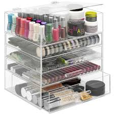 Bathroom Countertop Organizer by Acrylic Organizer With Drawers In Cosmetic Organizers Acrylic