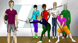 goliath a historical fencing and hema comic by emma king with