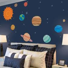 planets wall sticker planets wall sticker solar system wall stickers