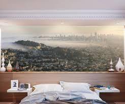 Skyline Wallpaper Bedroom San Francisco Panoramic Skyline Wall Mural By Eazywallz Gadget Flow