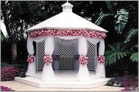 wedding arch gazebo decorating gazebos and arches for a wedding