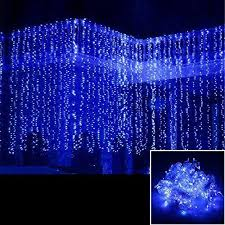 agptek 3mx3m 300led linkable curtain lights strings