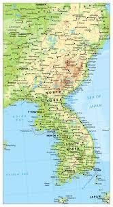 Map Of World Korea by Map South Korea