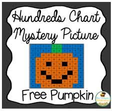 math hundreds chart free pumpkin math hundreds chart picture by mrs thompson s treasures