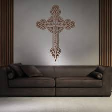 Celtic Home Decor Celtic Cross Wall Stickers Celtic Wall Art