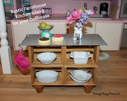 sur la table kitchen island diy dollhouse kitchen island