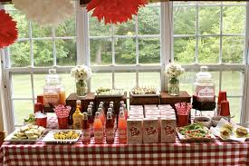 country bridal shower ideas country wedding shower food ideas