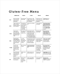 weekly meal planner template 9 free pdf word documents