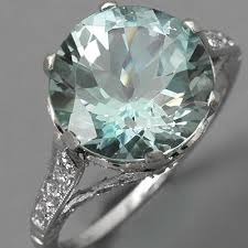 antique aquamarine engagement rings antique aquamarine ring aquamarine engagement ring