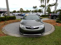 2012 used toyota camry 4dr sedan i4 automatic le at royal palm