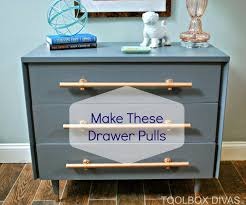 Bedroom Furniture Pulls And Handles Make Handles For Cabinets And Dressers 6 Steps With Pictures