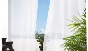 Sunbrella Outdoor Shower Curtains by Indoor Outdoor Curtains Blue And Green Stripe Indoor Outdoor