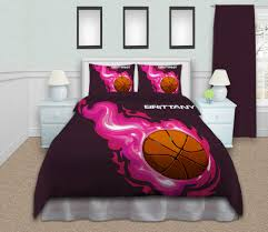 Girls Queen Size Bedding Sets by Basketball Bedding Sets Twin Queen King By Eloquentinnovations