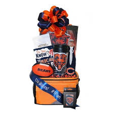 chicago gift baskets go bears chicago bears gift basket