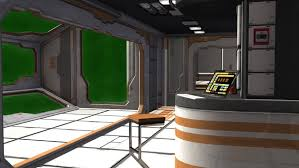 spaceship bedroom scifi spaceship room video background green screen stock footage