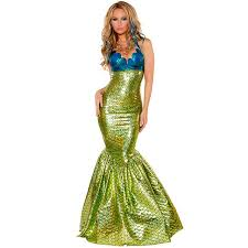 Shining Halloween Costume Aliexpress Buy Women Shining Bra Mermaid Costumes 2016