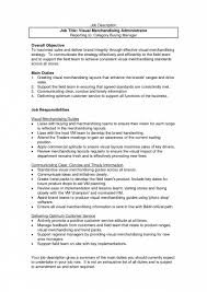 how to write roles and responsibilities in resume merchandiser duties resume resume for your job application retail jobs description resume s manager job description sample intended for sample resume