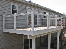 stainless steel cable railing systems deck u2014 railing stairs and
