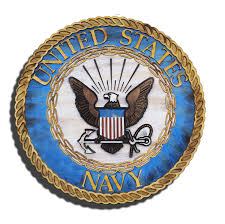united states navy official seal 3d from reclaimed wood vintage