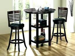 tall round kitchen table tall round dining table elegant pub and chairs costco set bar height