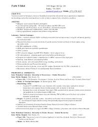 Example Of A Modern Resume by Biomedical Research Resume