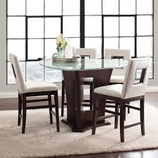 triangle counter height dining table 20 softly shaped curves of triangular dining tables home design