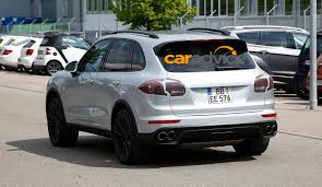 suv porsche 2015 2015 porsche cayenne best look yet at luxury suv facelift