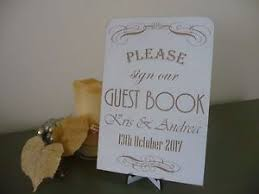 personalised wedding guest book personalised wedding guest book sign wooden vintage shabby plaque