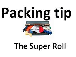 how to pack your clothes like a pro the super ranger roll youtube