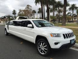 suv jeep 2015 2015 white 140 inch jeep grand cherokee limo for sale 1422