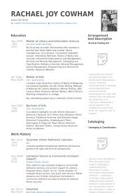American Resume Example by Librarian Resume Samples Visualcv Resume Samples Database