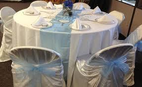 blue chair sashes linen chair sashes