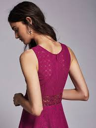 free people fitted with daisies dress in purple lyst