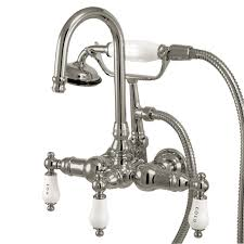 kingston kitchen faucets antique brass kingston kitchen faucets wall mount two handle pull